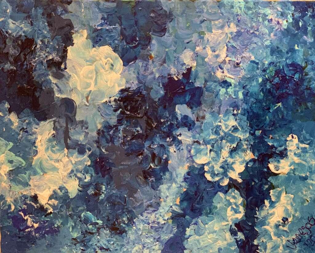 Blue Hydrangeas from Evolution Art