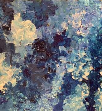 Blue Hydrangea from Evolution Art
