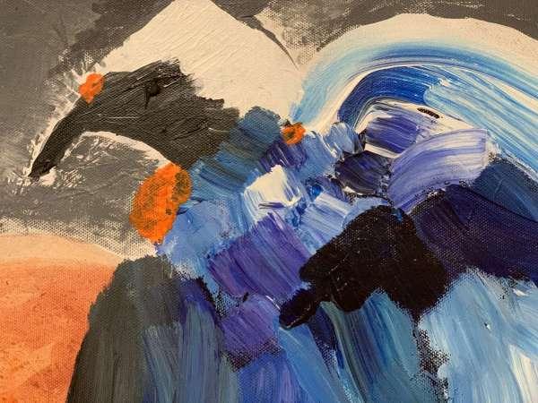 close up of El Condor from Evolution Art