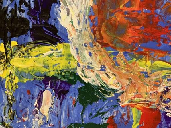 close up of El Ojo from Evolution Art