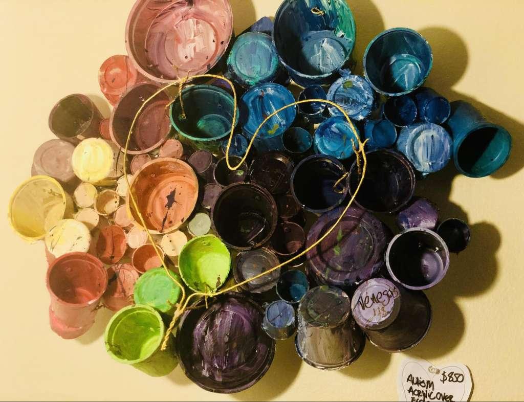 recycled art by Juana Venegas